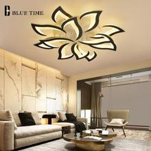 Современная светодиодная Люстра для гостиной спальни столовой