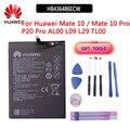 100% batterie de téléphone de remplacement d'origine HB436486ECW 3900mAh pour Huawei Mate 10 / Mate 10 Pro / P20 Pro Batteries avec outils gratuits