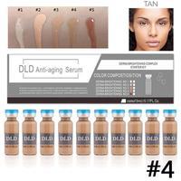New 10 / 5ml BB cream essence white natural whitening nude makeup liquid foundation anti aging moisturizing hot sale