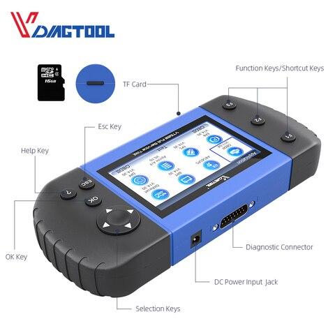 VT600 OBD2 Automotive Scanner Tool Engine ABS SRS EPB Oil Service Reset Injector Coding OBDII Key Programmer For Car Diagnostic Karachi