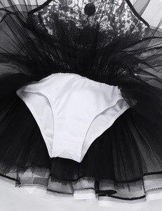 Image 3 - Iiniim Kinder Mädchen Moderne Dancewear Kostüm Größte Show mann Phantasie Glänzende Pailletten Dekorative Taste Gymnastik Trikot Tutu Kleid