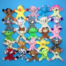 1pcs Cute Cartoon Plush Animal Magnets For Kids Gift Fridge Stickers Souvenir Refrigerator Magnet
