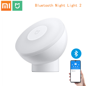 2020 NEW Xiaomi Mijia Bluetooth version Led Induction Night Light 2 Lamp Adjustable Brightness Infrared Smart Human body sensor