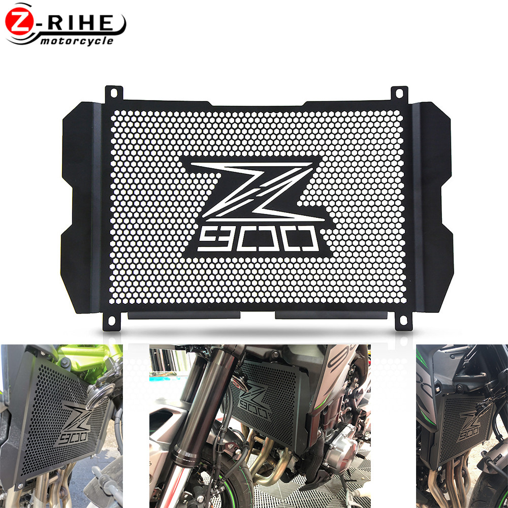 Motorcycle Radiator Grille Guard Cover Protector For <font><b>Kawasaki</b></font> Z900 <font><b>Z</b></font> <font><b>900</b></font> 2017-2019 2018 2020 Accessories Tank Net Protection image