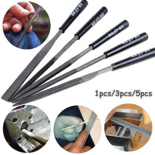 5 шт. надфили Набор резьба по дереву инструмент для полировки металла инструменты для металлической ювелирные изделия из стекла и камня Алмазный Сталь файлов вручную|Ножи| | АлиЭкспресс