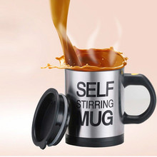 Automatic Mug Electric Lazy Special Self Stirring Mug Cup Coffee Milk Mixing Mug Stainless Steel Juice Mixing Cup Drinkware Stirring Mug usb rechargeable heated warmer coffee mug cup with automatic stirring brown