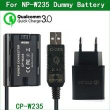 NP W235 NP W235 Dummy סוללה CP W235 כוח מחבר עבור FUJIFILM X T4 XT4 GFX100S דיגיטלי מצלמות