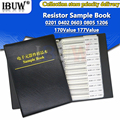 4250PCS 8500PCS 8850PCS 0201 0402 0603 0805 1206 Resistor Sample Book ibuw 1% SMD Assorted Kit 10K 100K 1K 1R 100R 220R