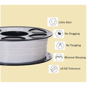 Image 3 - PLA/ABS/PETG 3D printer filament 1.75MM 343M/10M 10color 2.2LBS  3D Printing Material plastic material for 3d  printer 3Dpen