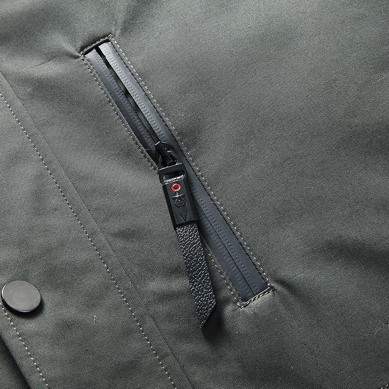 Real Fur Parka Coat Winter Jacket Mens Mink Fur Liner Raccoon Fur Collar Plus Size Parkas Mink Jacket 78-H18-907 YY327