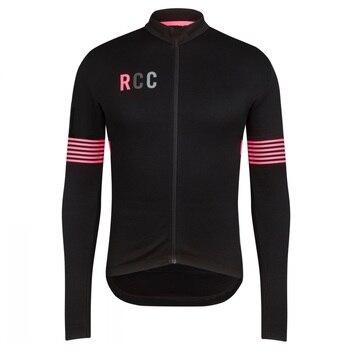 RCC Camiseta Larga De Manga Larga De Ciclismo Maillot Ciclismo De Escocia...