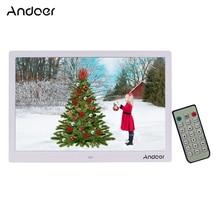 Andoer 15.4インチ1280*800 ledデジタル画像をフォトフレーム1080 hdビデオの再生とリモートコントロール音楽映画電子書籍