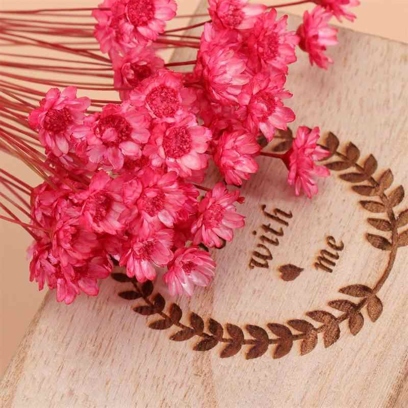 50Pcs Lovely Brazilian Small Star Flowers Ornaments Dried Flowers Bouquet Arrangement Flower Valentine's Day Gift Home Decor