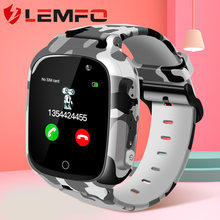 LEMFO LEC2 Kids Smart Watch GPS Positioning SOS One Click Call 600mAh Kids Watch Remote Monitor IP67 Smart Watches for Children(China)