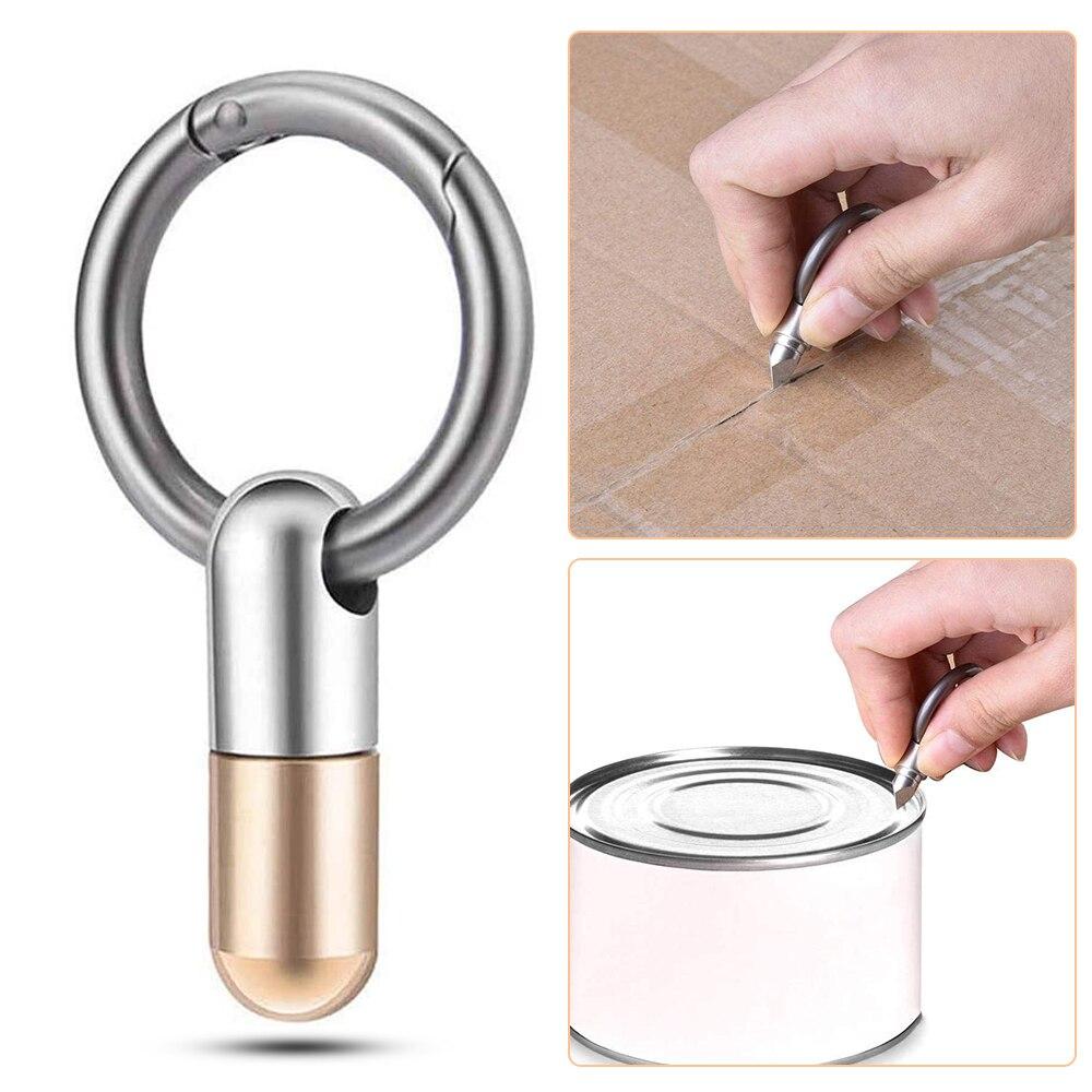 Multifunctional Capsule Key Ring