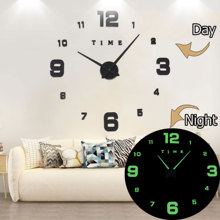 Wall Clock Clocks Modern Design Watch Digital Larg