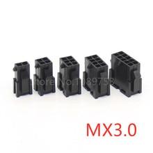 10 шт. Micro-Fit 3,0 мм коннектор MX3.0 двухрядный женский корпус 2x 1/2/3/4/5/6/7/8/9/10/12 Pin шаг 3,0 43640 серии