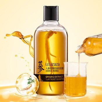 Ginseng wurzel haarausfall shampoo Öl Shampoo Nährt Haar Starken Haar Wurzeln Silikon Kostenloser Haar Shampoo haarpflege organischen