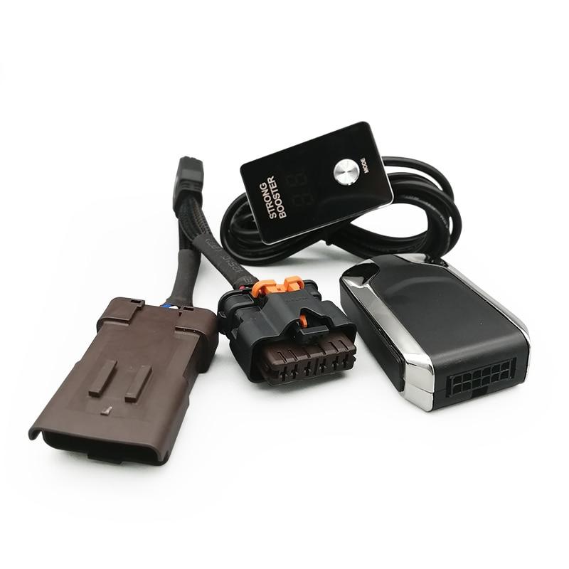 Auto Electronic throttle controller Car Gas Pedal Booster For VW TOUAREG 2003+