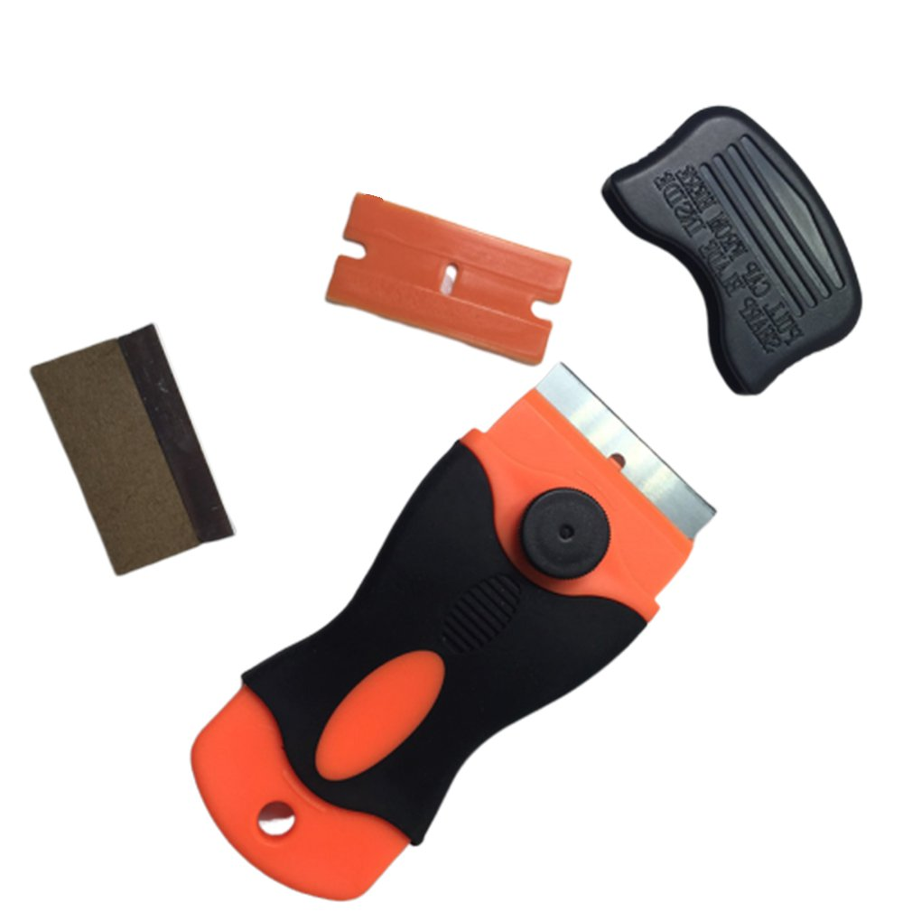Glue Cleaner Remover For Phone LCD Touch Screen Tool Scraper Repair Tool With 2pcs Plastic Blade Home Hand Tools