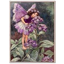 Алмазная 5d картина purpl с цветами для девочек стразы бабочки