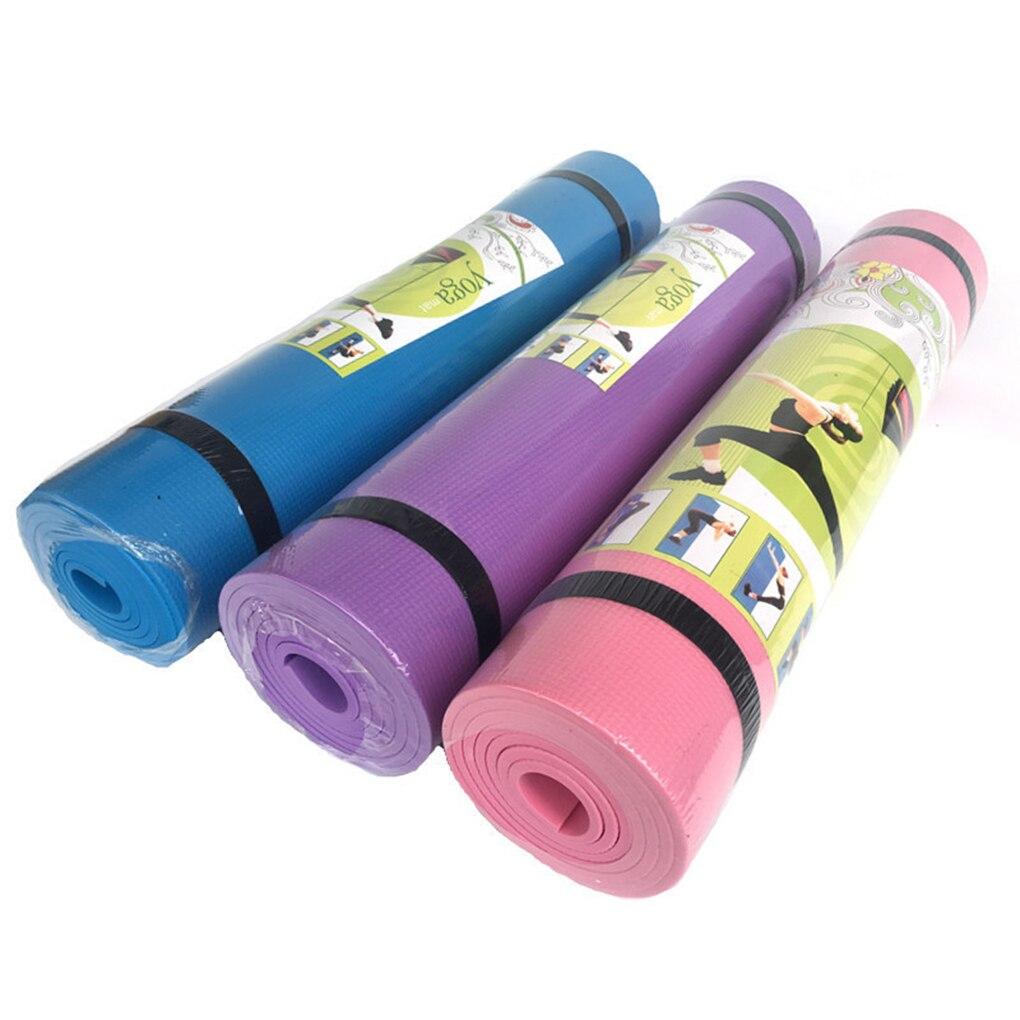 Non-Slip Fitness Exercise Workout Yoga Pilates Mattress Camping Picnic Mat Baby Kids Crawl Pad