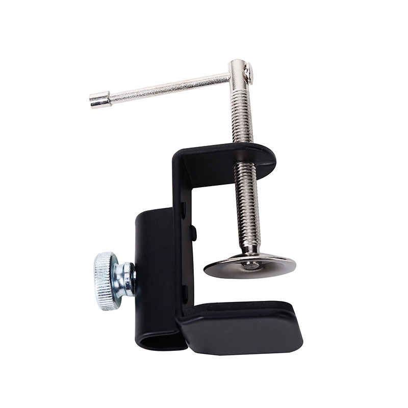 Cantilever Bracket Clamp Holder Metal Desk Lamp Clip Fittings Base Hose with Diameter and Non Slip Mat for Mic Stand Fishing Acc|Fishing Tools| |  - title=