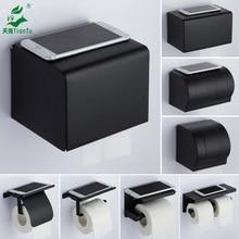 Черный и белый с узором коробка для салфеток отверстие Пробивной нержавеющей стали держатель туалетной бумаги для туалетной бумаги в отелях коробка крючки для стены Toi
