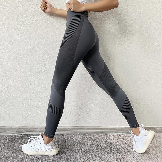 Женские леггинсы с высокой талией для фитнеса 2