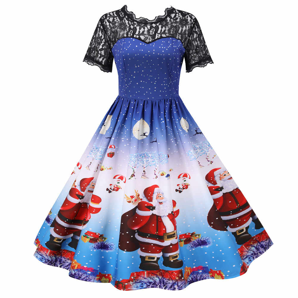 6 Kids Dresses for Girls Christmas Clothing Santa Claus Teenager Girl  Princess Dress New Year Party Children Cosplay Costume