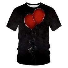 Модная мужская и женская футболка с короткими рукавами 3d принтом