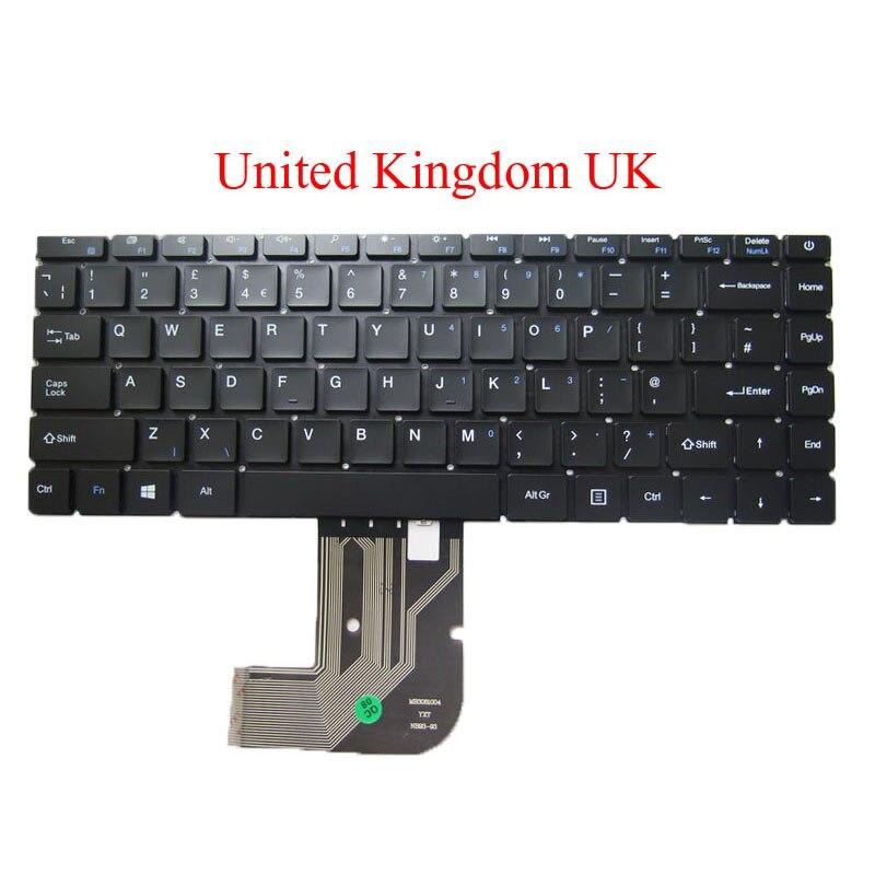 Teclado para Chuwi para Herobook Computador Portátil Reino Unido la kr sp 14 Inglês Espanhol Arábia América Latina Coréia Nova ar