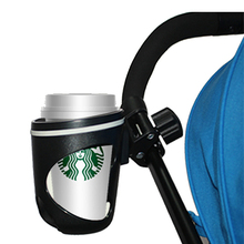Hot Sale Fashion Baby Stroller Cup Holder, 360° Rotation Non-slip Mat Free Adjustment Stroller Universal Accessories wholesale