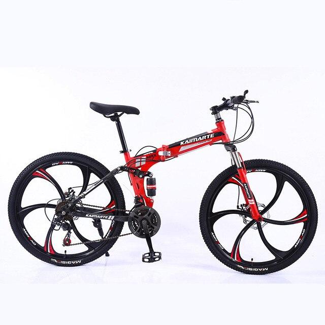 Heavy Duty Folding Mountain Bike 2