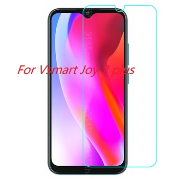 Перейти на Алиэкспресс и купить Для V smart Joy 2 + закаленное стекло для Vsmart Joy 2 plus 2.5D 9H Премиум Защитная пленка Joy 2 plus Взрывозащищенная