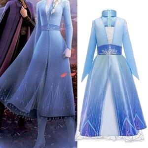 Платье для девочек, Детский костюм принцессы, карнавал на Хэллоуин, косплей, детское рождественское платье для девочек