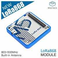 M5STACK Offizielle LoRa Modul 868MHz Kommunizieren Modul Ra-01H Mit Prototyping Bereich SPI Kommunikation Protokoll