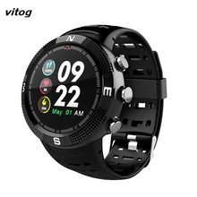 Sports Smartwatch Hear Rate Monitor GPS  IP68 Waterproof Men Women Bluetooth Message Reminder Pedometer watch bluetooth 4 0 call message reminder sports pedometer anti lost heart rate monitor steel strap smartwatch for android ios