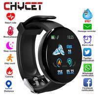 2019 Bluetooth montre intelligente hommes pression artérielle ronde Smartwatch femmes montre étanche Sport Tracker WhatsApp pour Android Ios