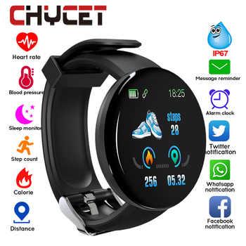 Reloj inteligente con Bluetooth 2019 para hombres, reloj inteligente redondo con presión arterial para mujeres, reloj deportivo resistente al agua, WhatsApp para Android Ios