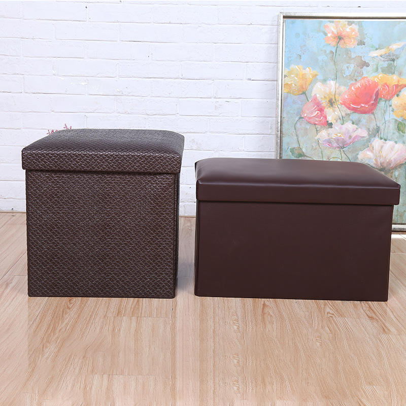 2019 New Style Fashion Home Storage Bench Wholesale Exquisite And Durable Leather Storage Chair Manufacturers Direct Selling