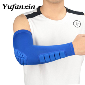 arm sleeve armband elbow support Basketball Arm Sleeve Breathable Football Safety Sport Elbow Pad brace protector