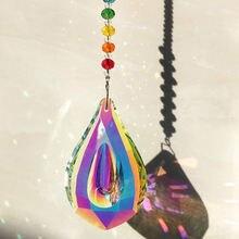 Солнце Ловец фэн шуй кристаллы окно большой ab капля Призма