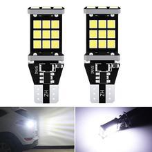 Éclairage de secours pour voitures, éclairage de secours, pour Hyundai Santa Fe ix35 ix20 ix55, Matrix Tucson Veloster, 2x T16 T15 W16W ampoule LED 2835 SMD, 921, 912