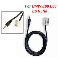 Auto AUX 12PIN Kabel Audio Adapter 3,5 MM Jack Interface Für BMW E60 E63 E64 E65 E66 E87 E88 E81 e82 E90 E91 E92 Hilfs Kabel