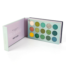 60 Colors Lasting Waterpfoof Eye Shadow Palette Shimmer Glitter Pigment Powder C
