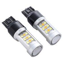 2PS 7443 LED Brake Daylight DC12-24V 3.5W 450LM Turning Light Daytime Running Super Bright High Quality Car Bulb