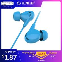 ORICO Wired Earphone In-ear Bass Stereo Sport With Microphone Computer Earbuds for iPhone Xiaomi fone de ouvido