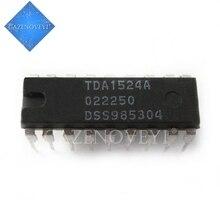 10 pz/lotto TDA1524A TDA1524 DIP 18 Stereo tone/circuito di controllo del volume In Magazzino