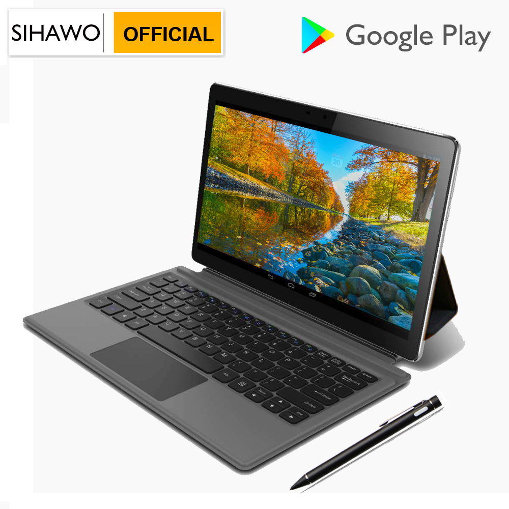 SIHAWO 11.6inch MTK 6797 X27 10 Core Android 8.0 Tablet PC 8GB RAM 128GB ROM Dual Cameras 4G LTE Google Market FM 2 In 1 Tablets